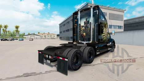 Jungle de la peau pour le tracteur Kenworth pour American Truck Simulator