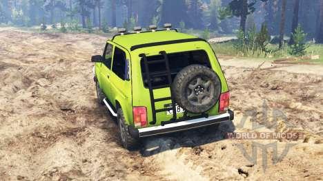 VAZ-2121 Niva pour Spin Tires