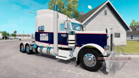 La peau de la Garde Nationale pour le camion Pet pour American Truck Simulator