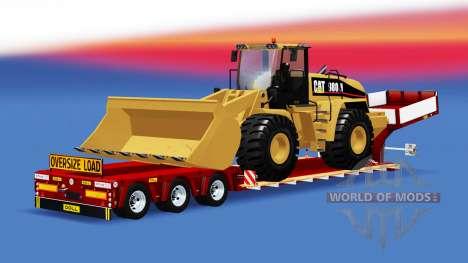 Lit bas au chalut de Poupée avec des charges dif pour American Truck Simulator