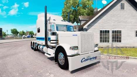 La peau de la Con-moyen de transport pour le cam pour American Truck Simulator