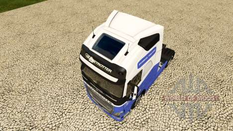 Die H. Veldhuizen BV skin für Volvo-LKW für Euro Truck Simulator 2