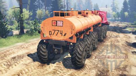 MZKT-79191 pour Spin Tires