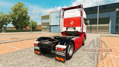JSL-skin für den Scania truck für Euro Truck Simulator 2