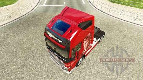 La peau De la Logistique chez Volvo trucks pour Euro Truck Simulator 2