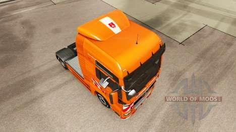 Die J. Eckhardt Spedition Haut für LKW MAN für Euro Truck Simulator 2