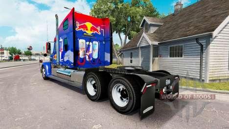 Red Bull skin für die Zugmaschine Freightliner C für American Truck Simulator