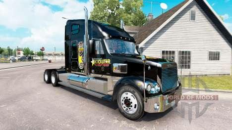 Скин Rockstar Energy на Freightliner Coronado für American Truck Simulator