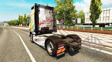 Haut Euro Logistics bei Volvo trucks für Euro Truck Simulator 2