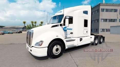 Celadon Camionnage de la peau pour tracteur Kenw pour American Truck Simulator