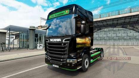 Haut Revada & de Keuster auf Zugmaschine Scania für Euro Truck Simulator 2