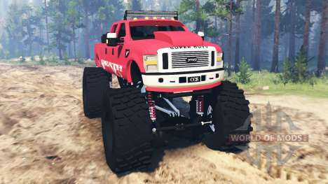 Ford F-350 [monster edition] für Spin Tires