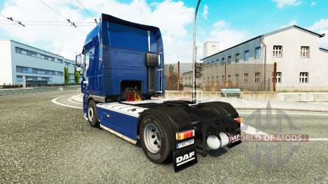 Pieter Smit-skin für den DAF XF 105.510 Zugmasch für Euro Truck Simulator 2