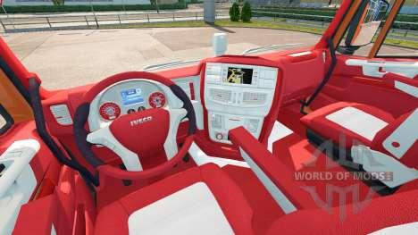 Das Bayern-Innenraum für Iveco-Hi-Way für Euro Truck Simulator 2