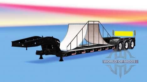 Bas de balayage avec 20 différentes charges. pour American Truck Simulator