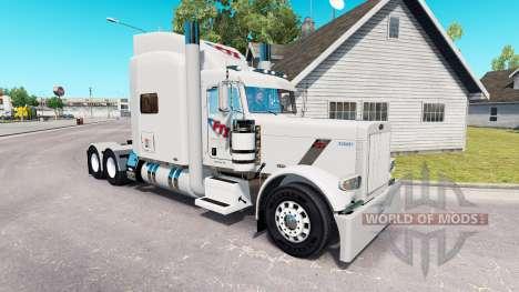 FTI Transport skin für den truck-Peterbilt 389 für American Truck Simulator