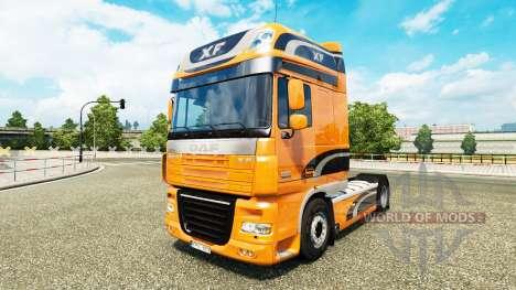 Skin DAF XF tractor DAF XF 105.510 für Euro Truck Simulator 2