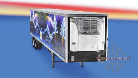 La peau CS Logistique 02 sur la semi-remorque-le pour American Truck Simulator