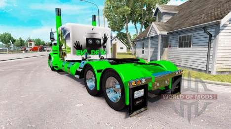 Snake skin für den truck-Peterbilt 389 für American Truck Simulator