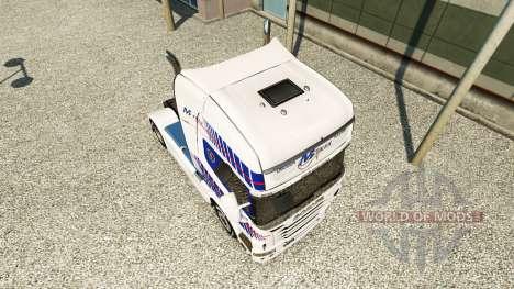 Haut M-Trex-Zugmaschine Scania für Euro Truck Simulator 2