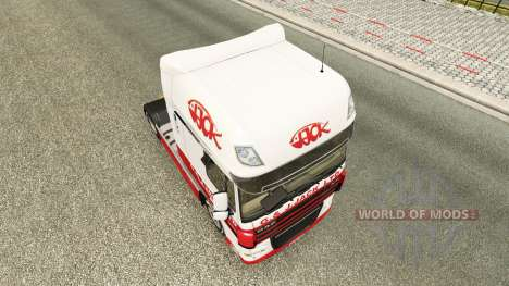 Haut J. G. Jack Ltd. DAF für Euro Truck Simulator 2
