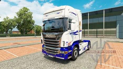 American Dream-skin für den Scania truck für Euro Truck Simulator 2