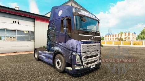 L'hiver des Loups de la peau pour Volvo camion pour Euro Truck Simulator 2