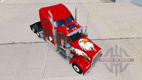 La peau de l'Aigle sur le camion Kenworth W900 pour American Truck Simulator