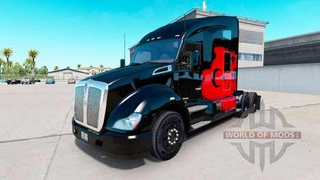 Haut Turkish Power Traktor Kenworth für American Truck Simulator