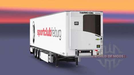 Semi-remorque Chereau SC Fribourg pour Euro Truck Simulator 2