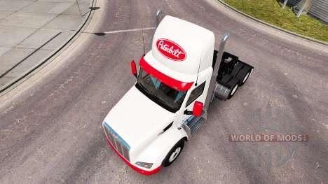 Simple peau pour le camion Peterbilt pour American Truck Simulator