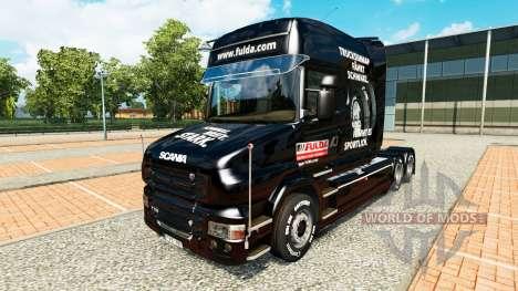 Fulda Haut für LKW Scania T für Euro Truck Simulator 2
