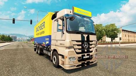 Tuning für Mercedes-Benz Actros MP3 für Euro Truck Simulator 2