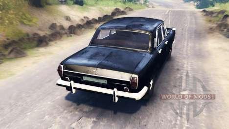 GAZ-24 Volga für Spin Tires