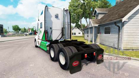 Skin DFS Danfreiht on tractor Peterbilt 387 für American Truck Simulator