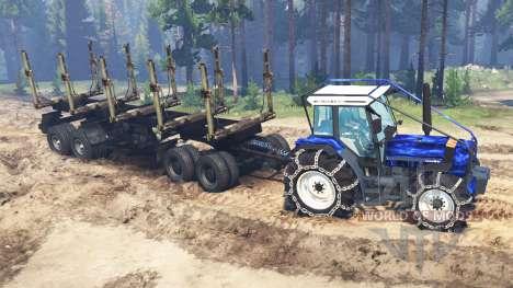 Deutz-Fahr AgroStar 6.61 für Spin Tires