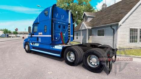 La peau de Robert Heath sur tracteur Freightline pour American Truck Simulator