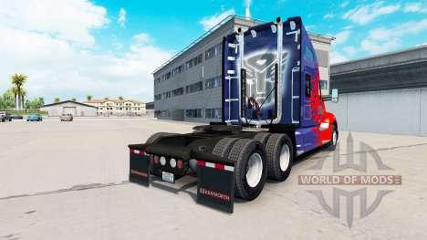 Haut für Optimus Prime truck Kenworth für American Truck Simulator