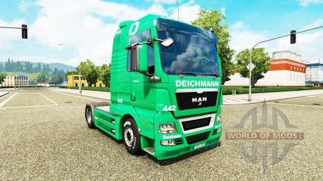 Skin Deichmann for tractor ON pour Euro Truck Simulator 2