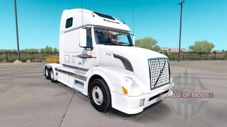Haut P. A. M. auf Sattelzugmaschine Volvo VNL 67 für American Truck Simulator