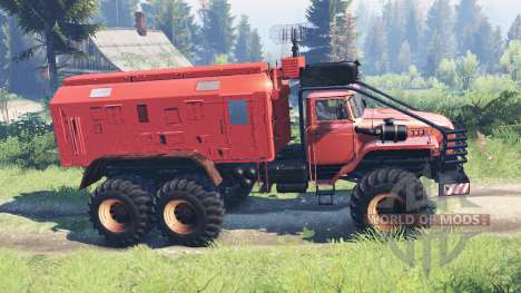 Ural-4320 Polarforscher v12.0 für Spin Tires