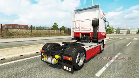 La Peau G. J. Jack Ltd. DAF pour Euro Truck Simulator 2