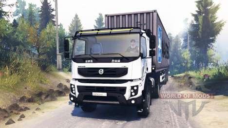 Volvo FMX 400 für Spin Tires