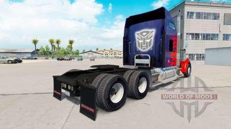 Haut für Optimus Prime truck Kenworth W900 für American Truck Simulator