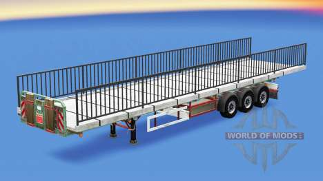 Semi-Boden mit dem Gewicht der Brücke-element für American Truck Simulator
