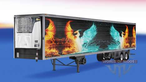 La peau CS Logistique 01 sur la semi-remorque-le pour American Truck Simulator
