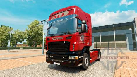 L'America Latina Logistica de la peau pour Scani pour Euro Truck Simulator 2