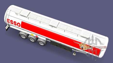 ESSO fuel-trailer für Euro Truck Simulator 2