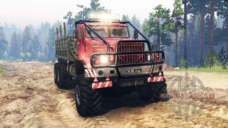 KrAZ-255 de l'URSS pour Spin Tires