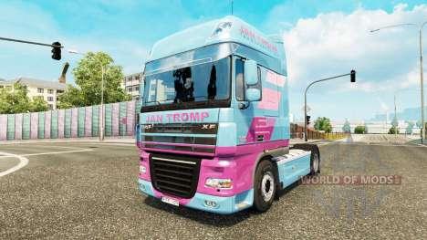 Jan Tromp-skin für die Zugmaschine DAF XF 105.51 für Euro Truck Simulator 2